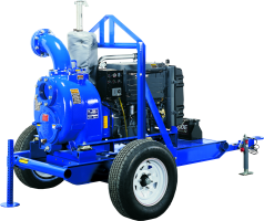 Trailer and Skid Mounted Self Priming Pumps