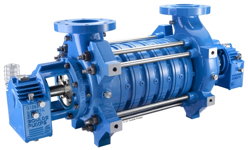 High Pressure Multi Stage Pump : Goulds high pressure multistage ring section pumps