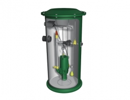Complete Grinder Pump Packaged Systems