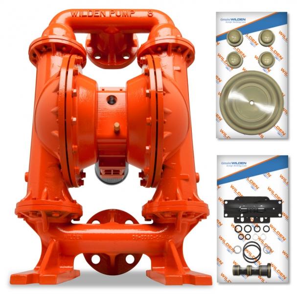 New wilden pump repair kits