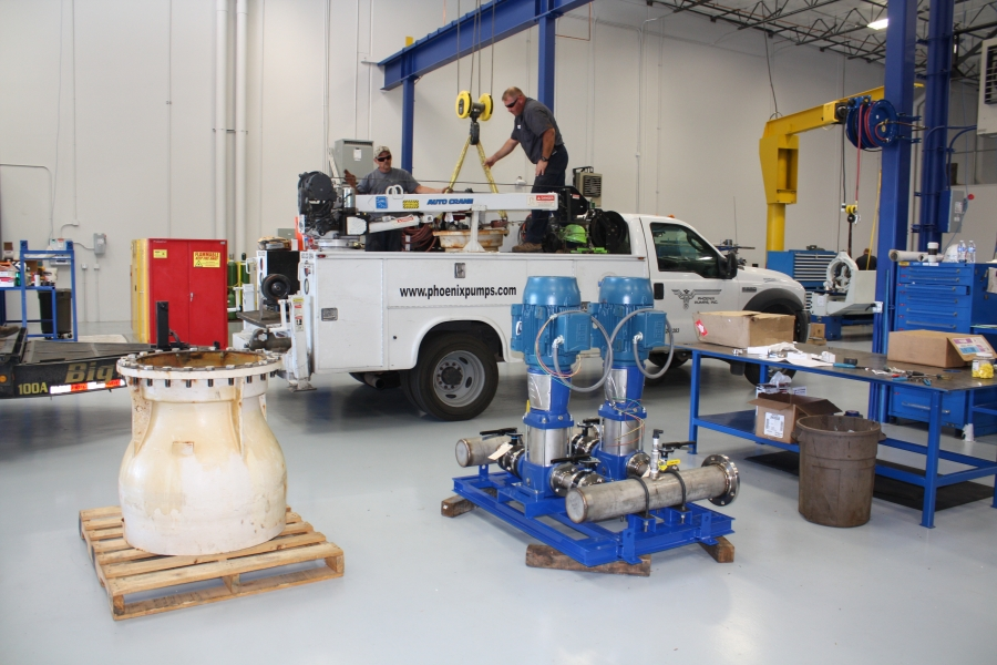 Services from Phoenix Pumps, Inc
