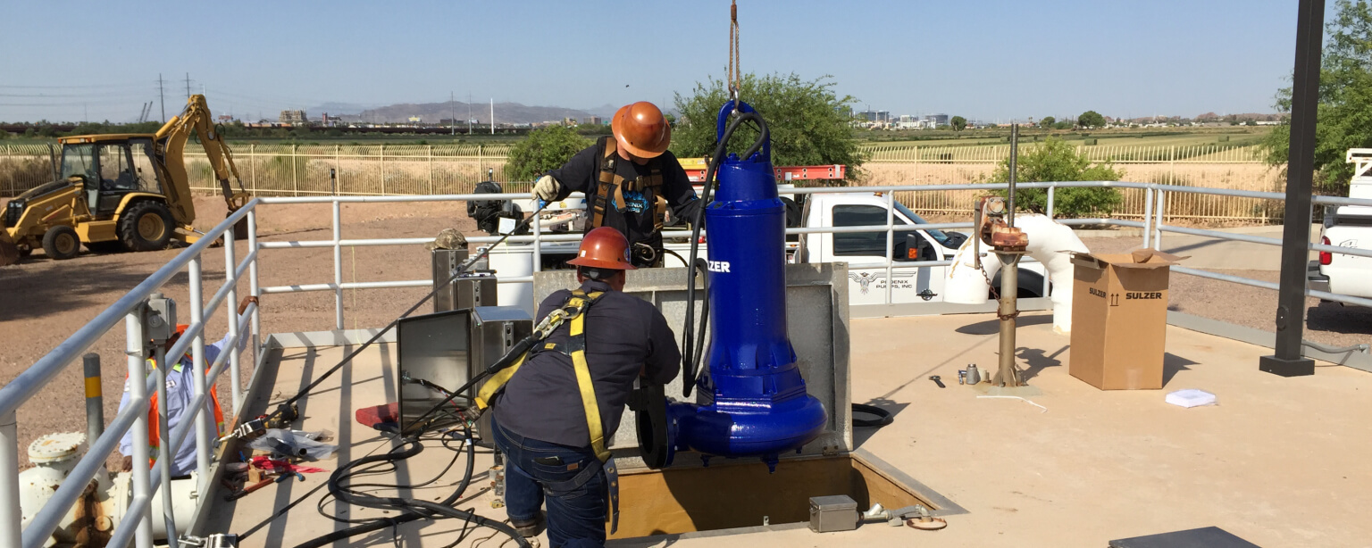 Turn-Key Pump Installation!