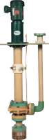 5500 Series Fiberglass Vertical Sump Pumps