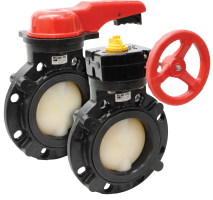 NM Series Non-Metallic Butterfly Valves