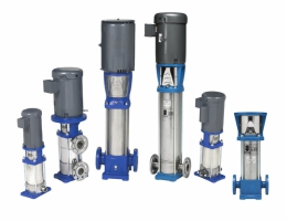 e-SV Vertical Multistage Centrifugal Pumps