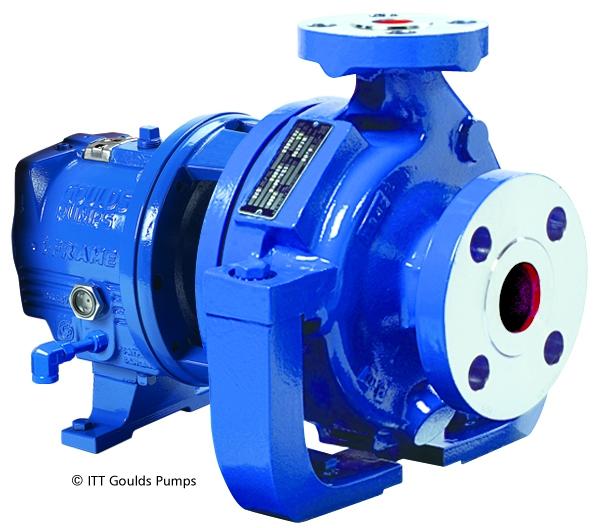 Goulds HT 3196 i-FRAME High-Temperature Process Pumps at