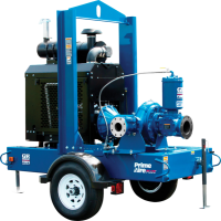 Trailer Mounted Engine Driven Self Priming Pumps