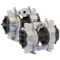 Non-Metallic Flap Valve Diaphragm Pump